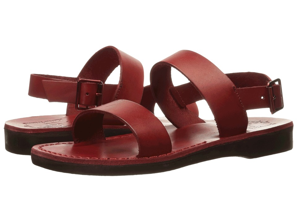 Jerusalem Sandals - Golan - Womens (Red) Women's Shoes