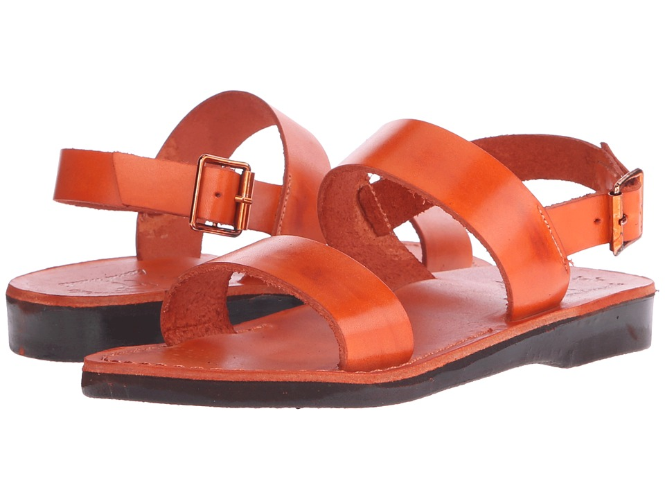 Jerusalem Sandals - Golan - Womens (Orange) Women's Shoes