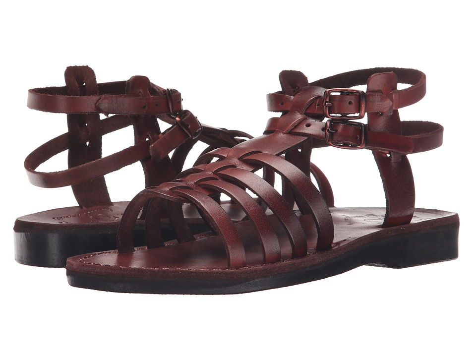 Jerusalem Sandals - Leah - Womens (Brown) Women's Shoes