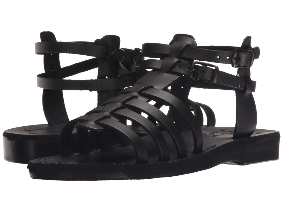 Jerusalem Sandals - Leah - Womens (Black) Women's Shoes