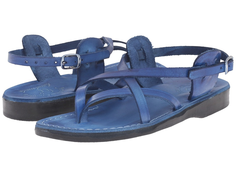 Jerusalem Sandals - Tamar Buckle - Womens (Blue) Women's Shoes