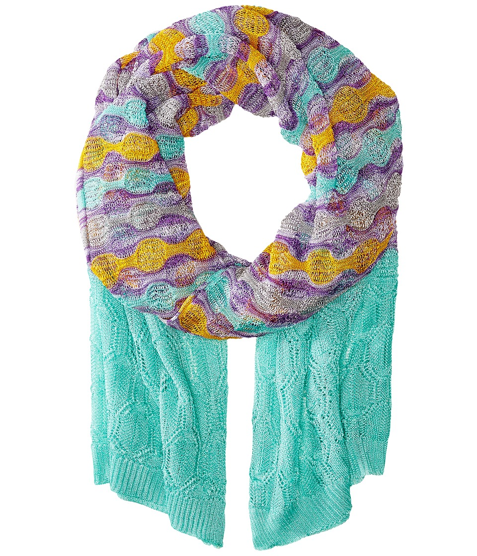 Missoni - SC36COD5333 (Green/Orange/Purple) Scarves