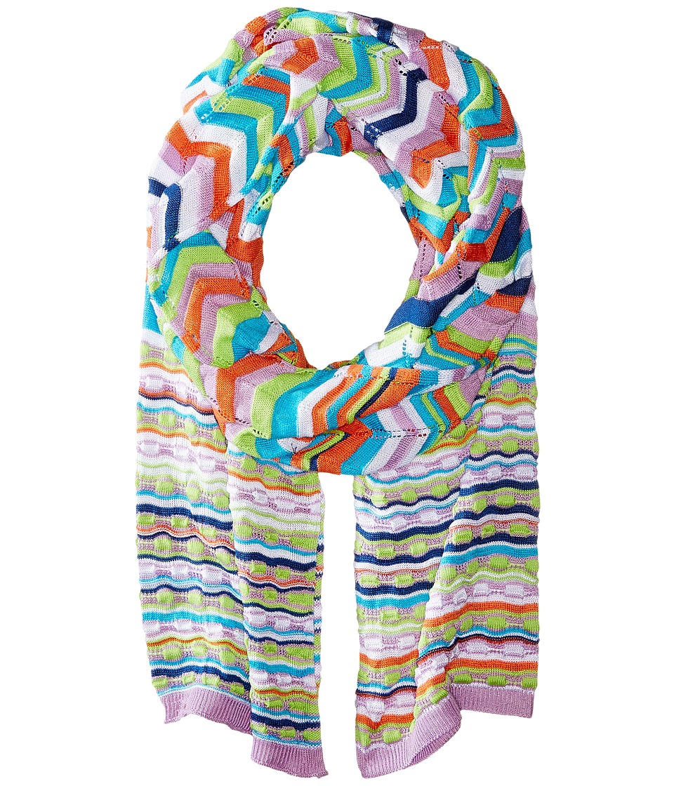 Missoni - SA60VMD5347 (Purple/Aqua) Scarves