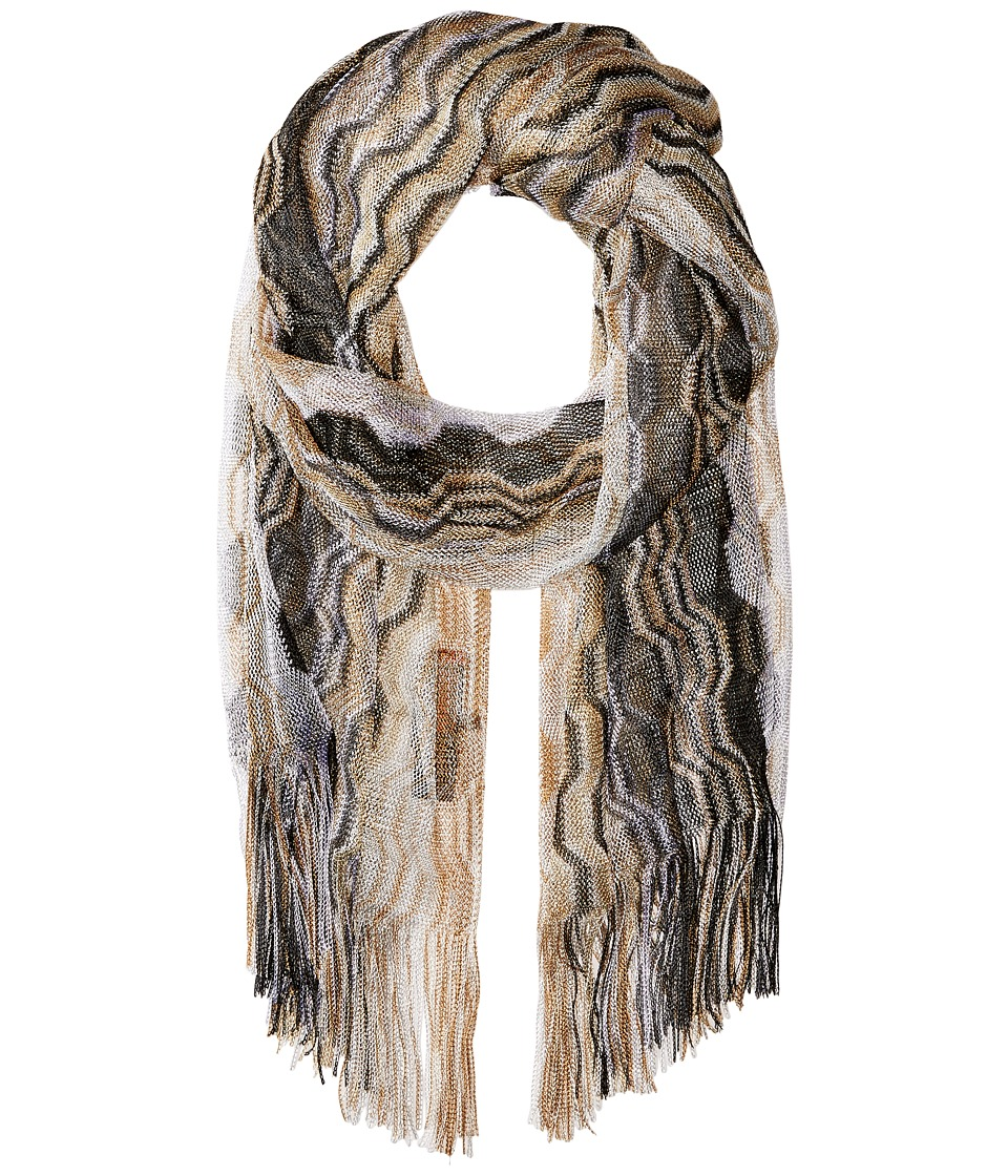 Missoni - SA60VID5374 (Grey/Black) Scarves