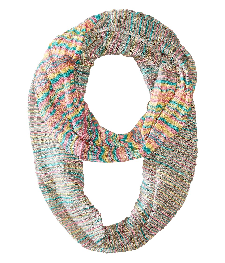 Missoni - CO36COD5332 (Pink/Green) Scarves
