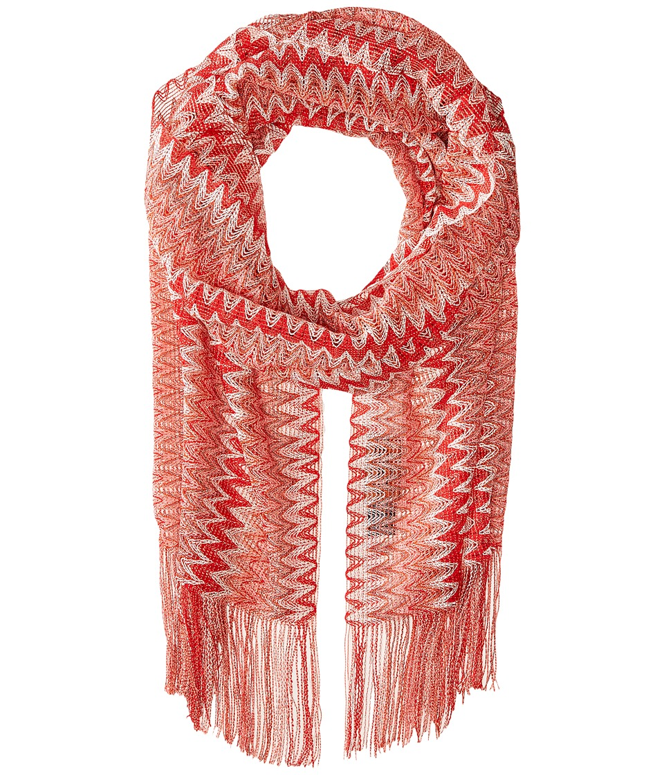 Missoni - SC31VMD5375 (Red) Scarves