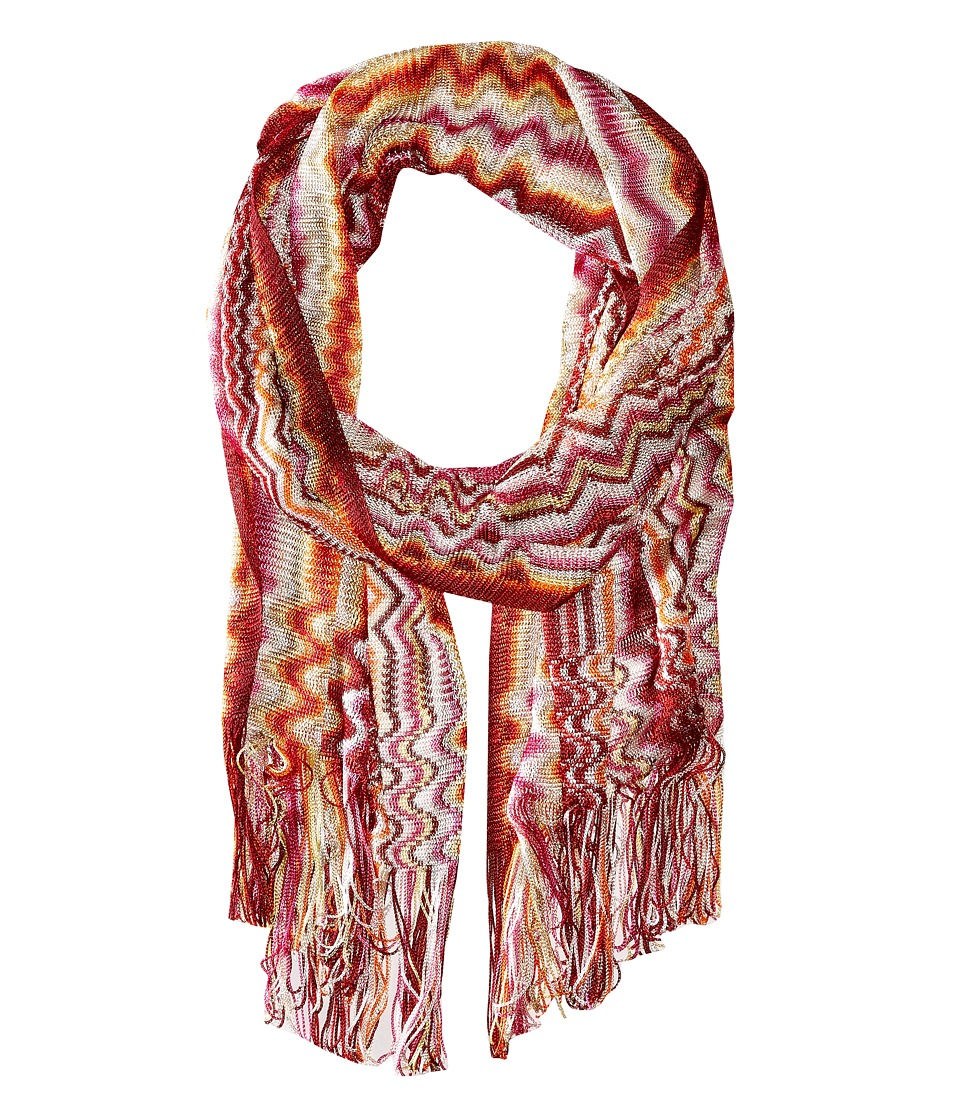 Missoni - SC29VID5389 (Pink/Orange) Scarves
