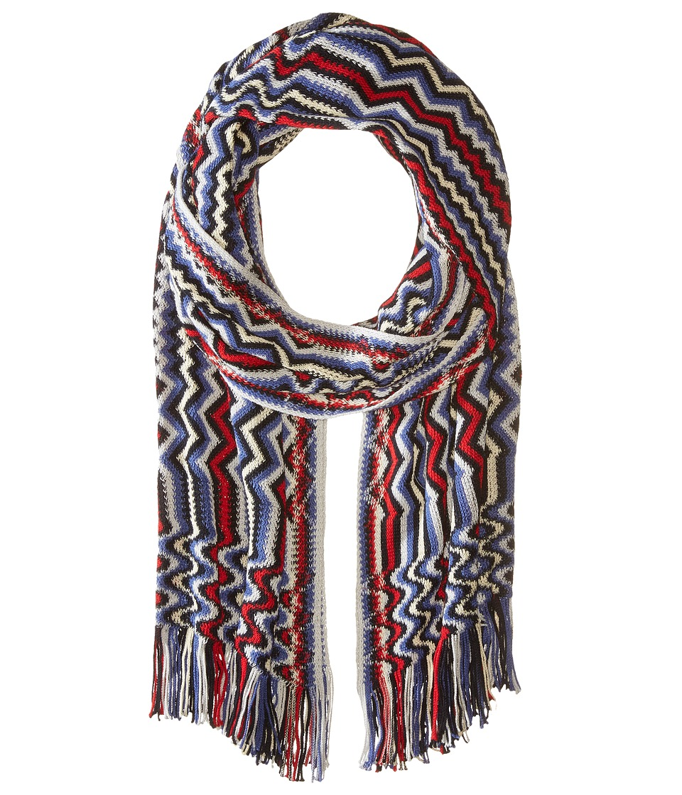 Missoni - SC18CMU5429 (Red/Blue) Scarves