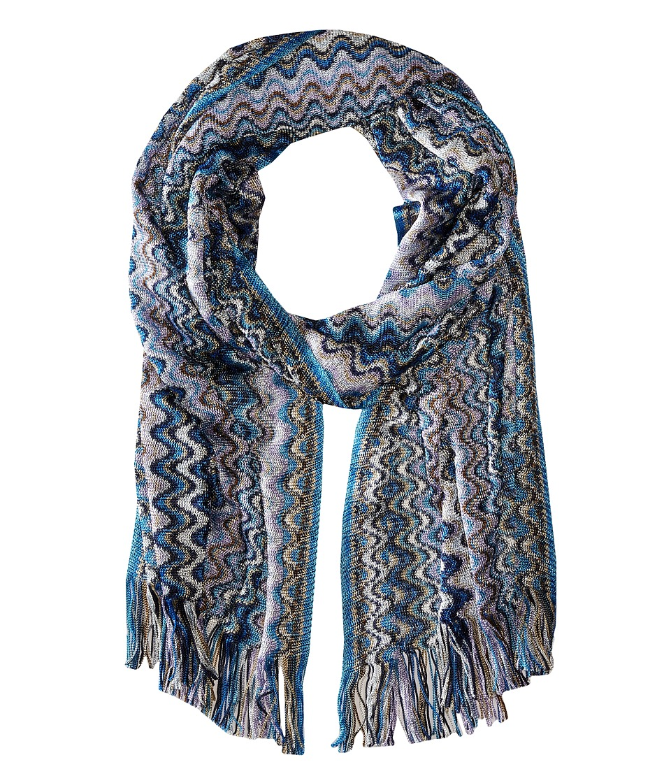 Missoni - SC36VMD5338 (Blue) Scarves