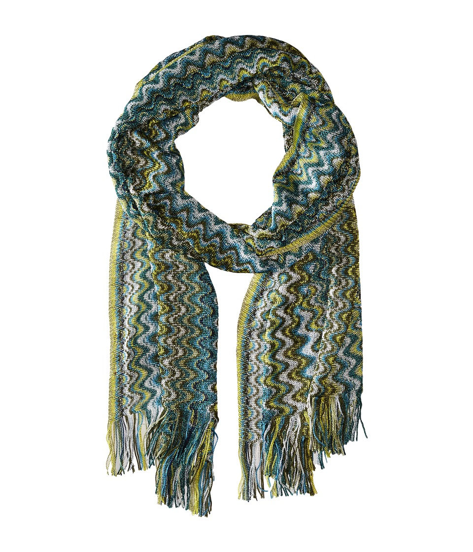 Missoni - SC36VMD5338 (Green) Scarves