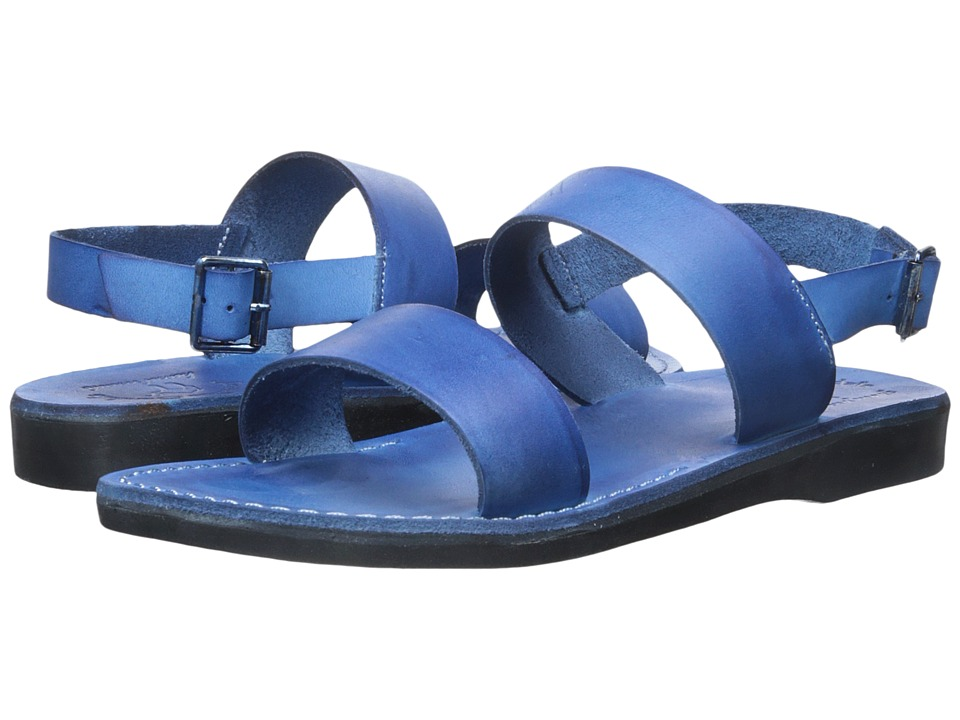Jerusalem Sandals - Golan - Mens (Blue) Men's Shoes