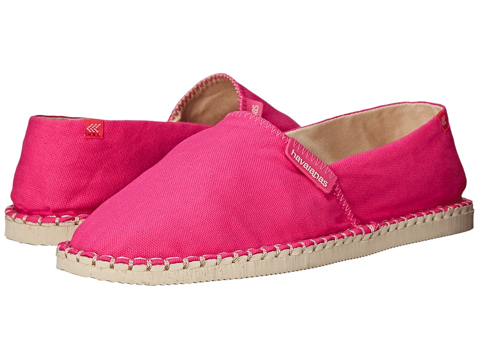 Havaianas - Origine II (Fuchsia) Women's Slip on Shoes