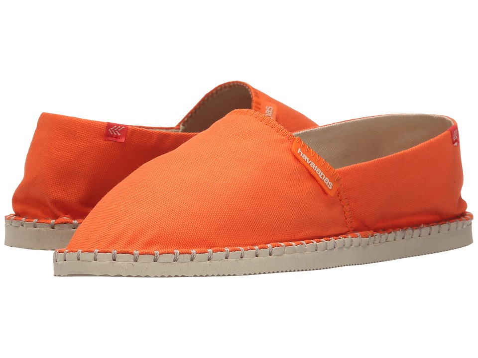 Havaianas - Origine II (Tangerine) Women's Slip on Shoes
