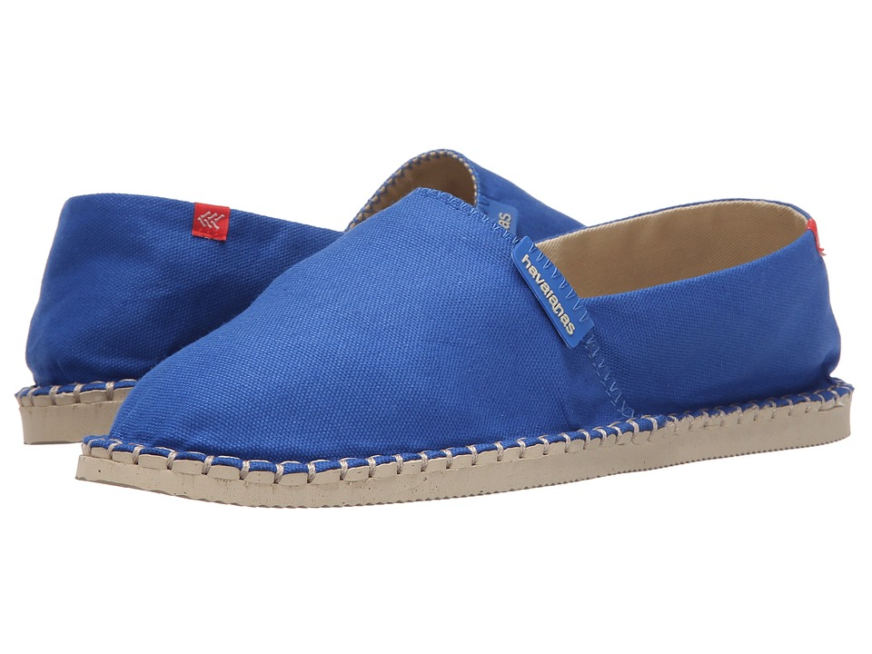 Havaianas - Origine II (Blue Star) Women's Slip on Shoes