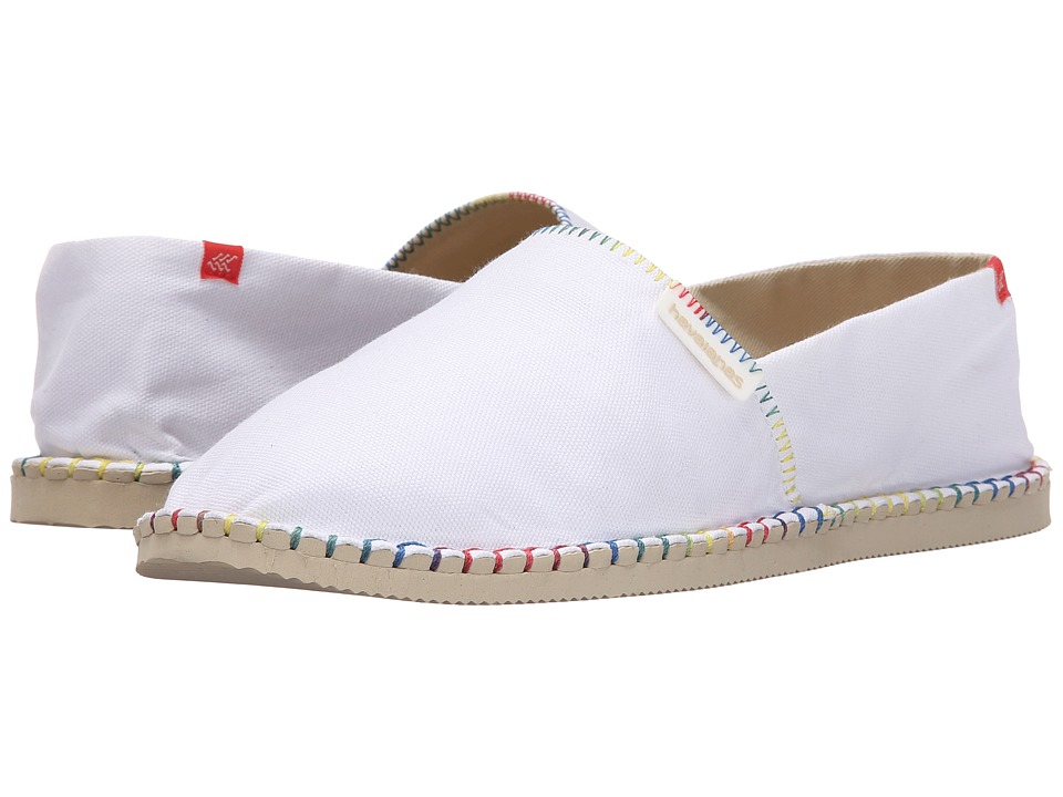 Havaianas - Origine Details (White) Women's Sandals