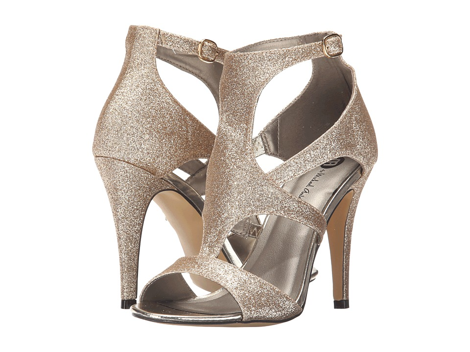 Michael Antonio - Real - Glitter (Nude) High Heels