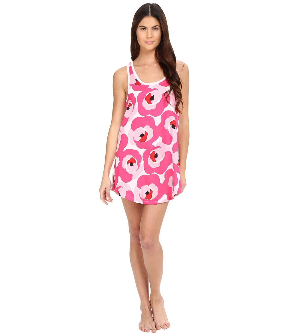 Kate Spade New York - Cotton Sateen Cotton Modal Chemise (Deco Rose) Women's Pajama