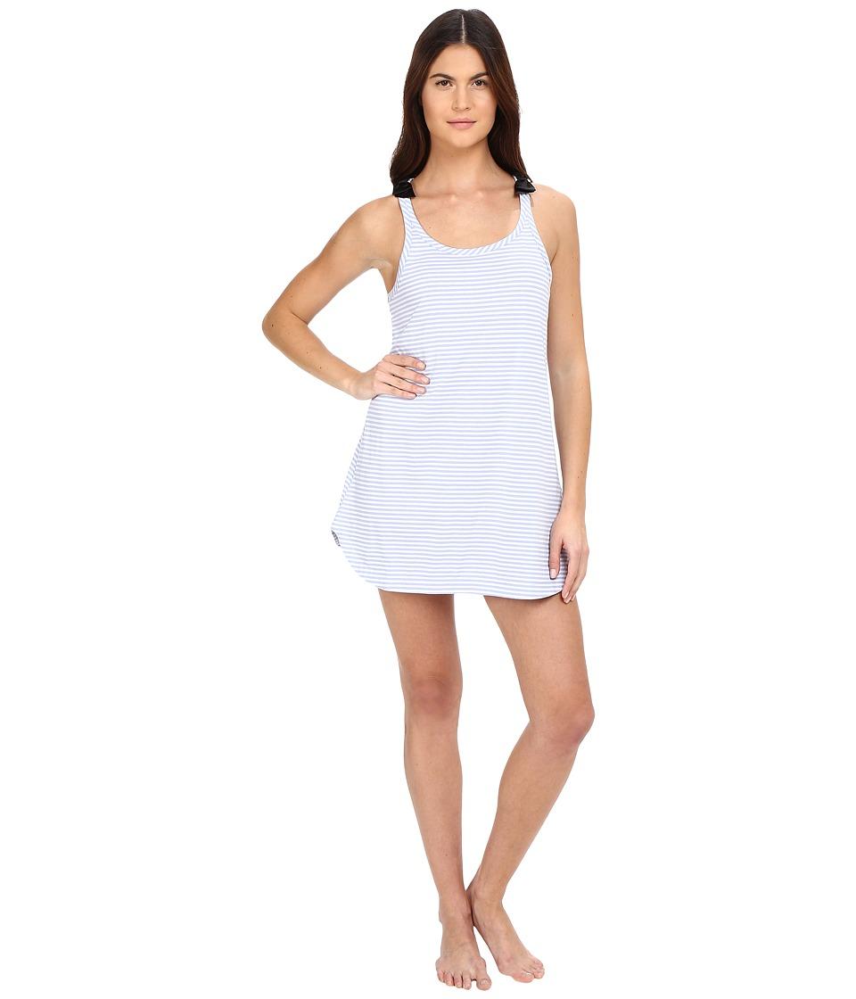 Kate Spade New York - Jersey Chemise (Classic Stripe Pale Aster) Women's Pajama