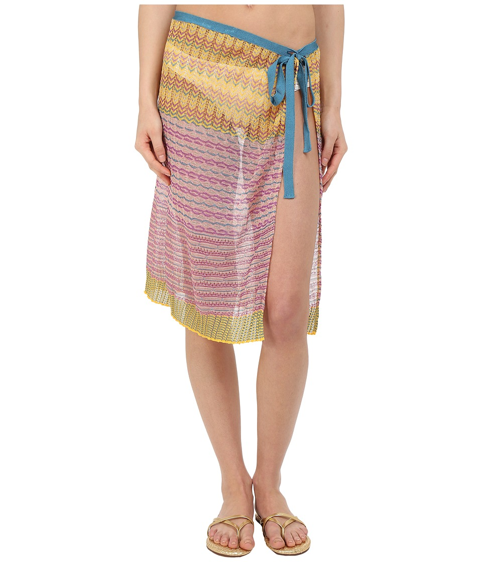 Missoni - PR1WVMD5346 (Purple/Yellow) Women's Skirt