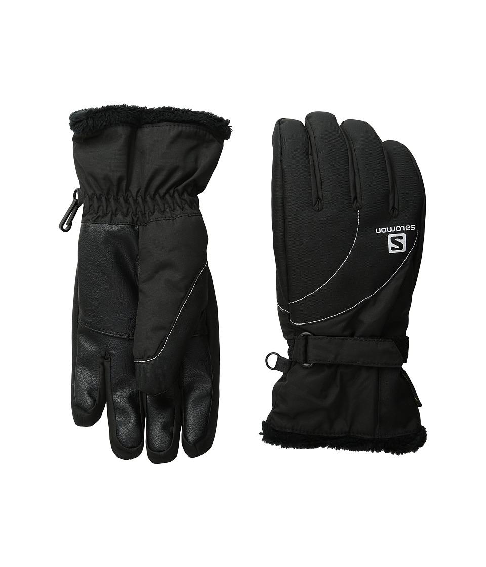Salomon Force GORE-TEX(r) W (Black 1) Gore-Tex Gloves