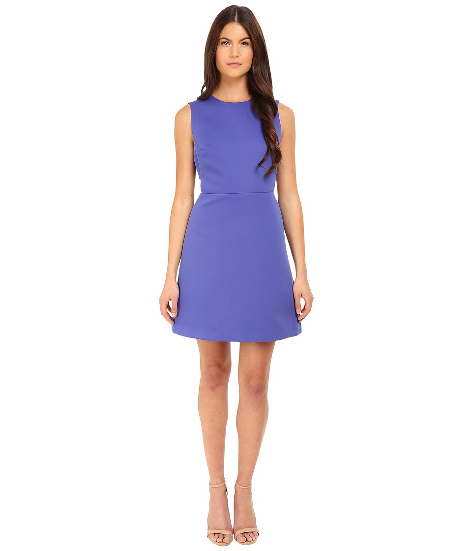 Kate Spade New York - Cut Out A-Line Dress (Indigo Ink) Women's Dress