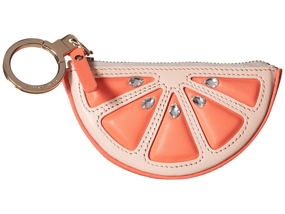 Kate Spade New York - Flights of Fancy Grapefruit Coin Purse (Coral Sunset Multi) Coin Purse