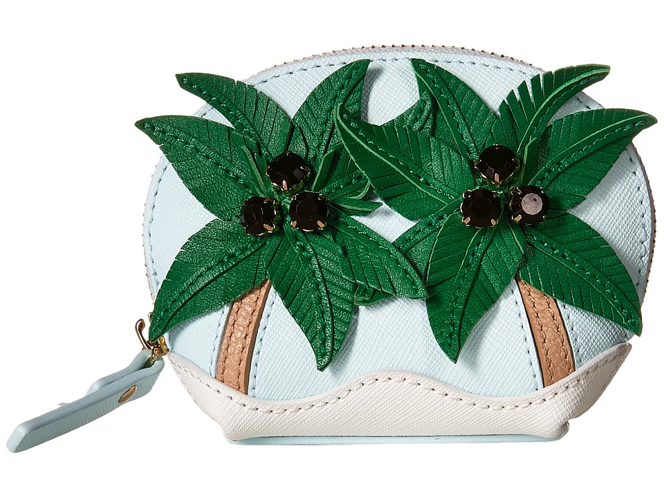 Kate Spade New York - Breath of Fresh Air Palm Tree Coin Purse (Multi) Coin Purse