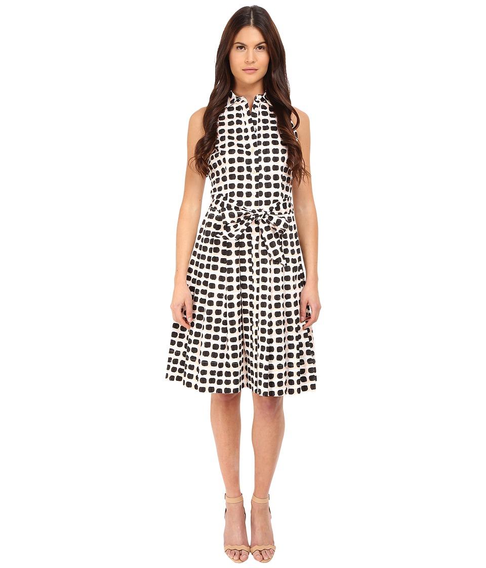 Kate Spade New York - Island Stamp Shirtdress (Black Multi) Women's Dress