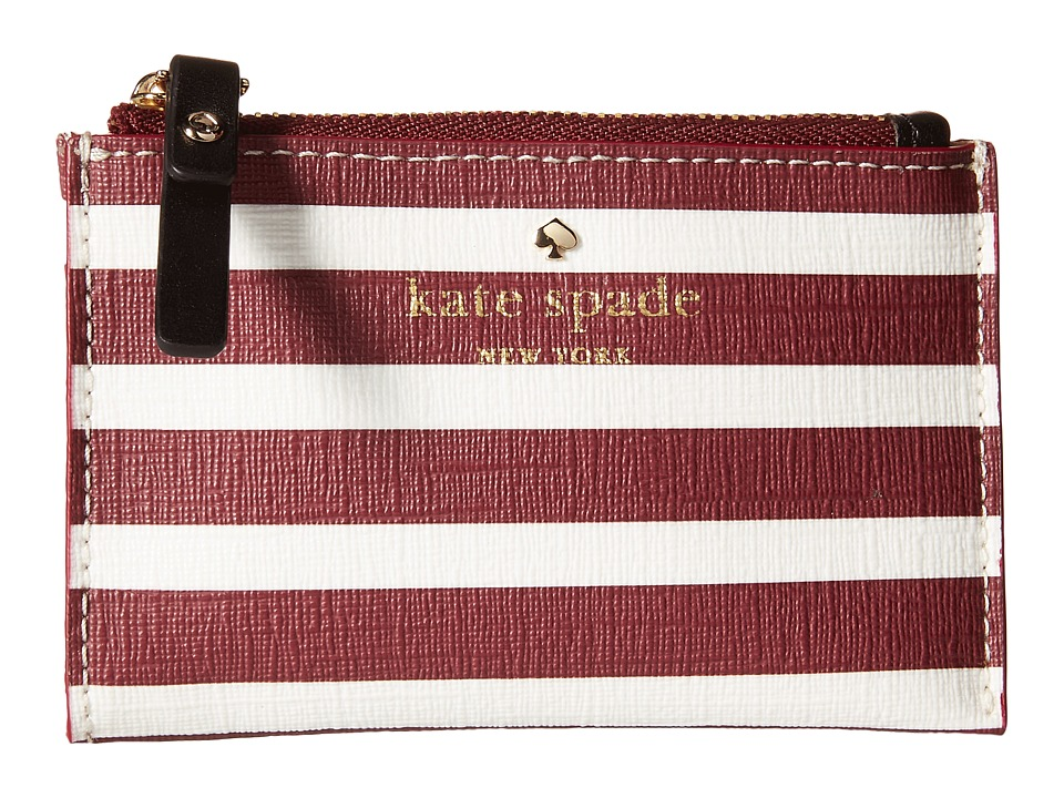 Kate Spade New York - Fairmount Square Cori (Merlot/Cream) Wallet