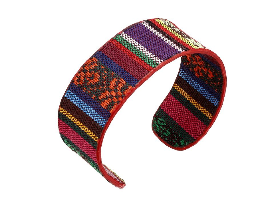 The Sak - Fabric Flex Cuff Bracelet (Multi) Bracelet