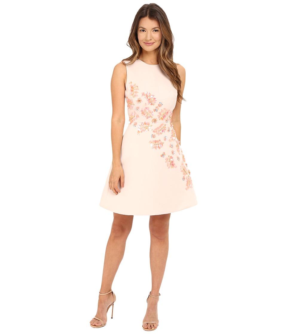 Kate Spade New York - Sea Ferns Embellished Dress (Antilles Bubbles) Women's Dress