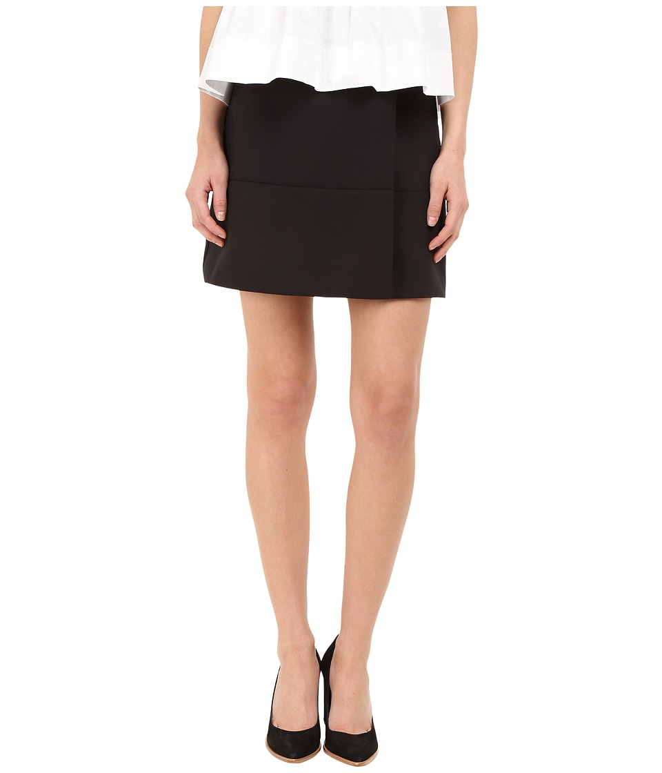 Kate Spade New York - Wrap Skirt (Black) Women's Skirt