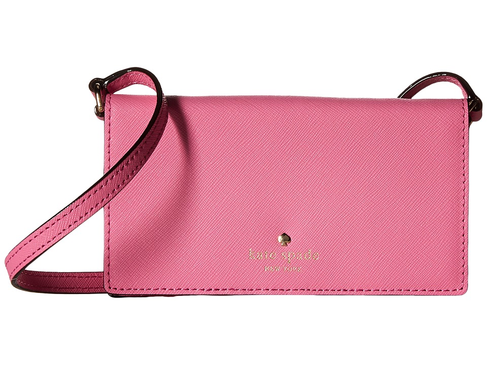 Kate Spade New York - Crossbody iPhone Case for iPhone 6 (Rogue Pink) Cell Phone Case