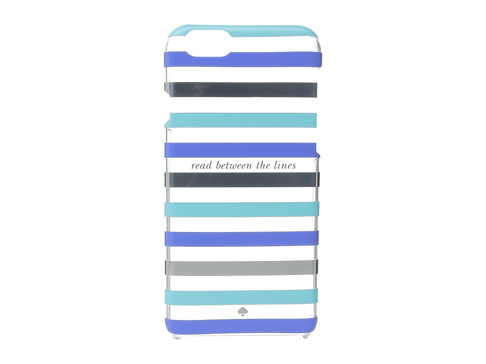 Kate Spade New York - Read Between The Lines iPhone Cases for iPhone 6 (Blue Multi) Cell Phone Case