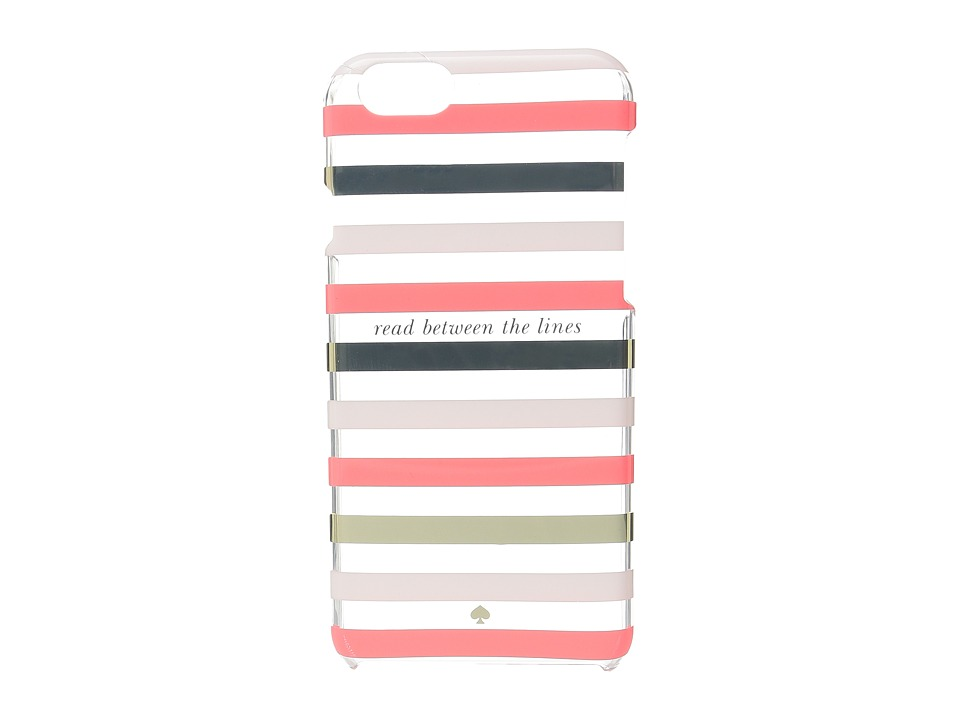 Kate Spade New York - Read Between The Lines iPhone Cases for iPhone 6 (Surprise Coral Multi) Cell Phone Case