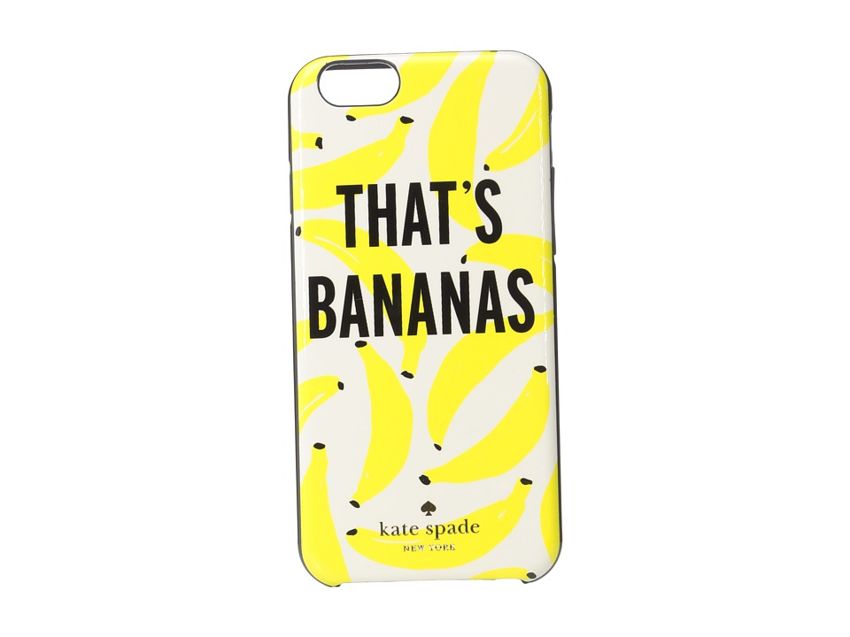 Kate Spade New York - That's Bananas iPhone Case for iPhone 6 (Cream Multi) Cell Phone Case
