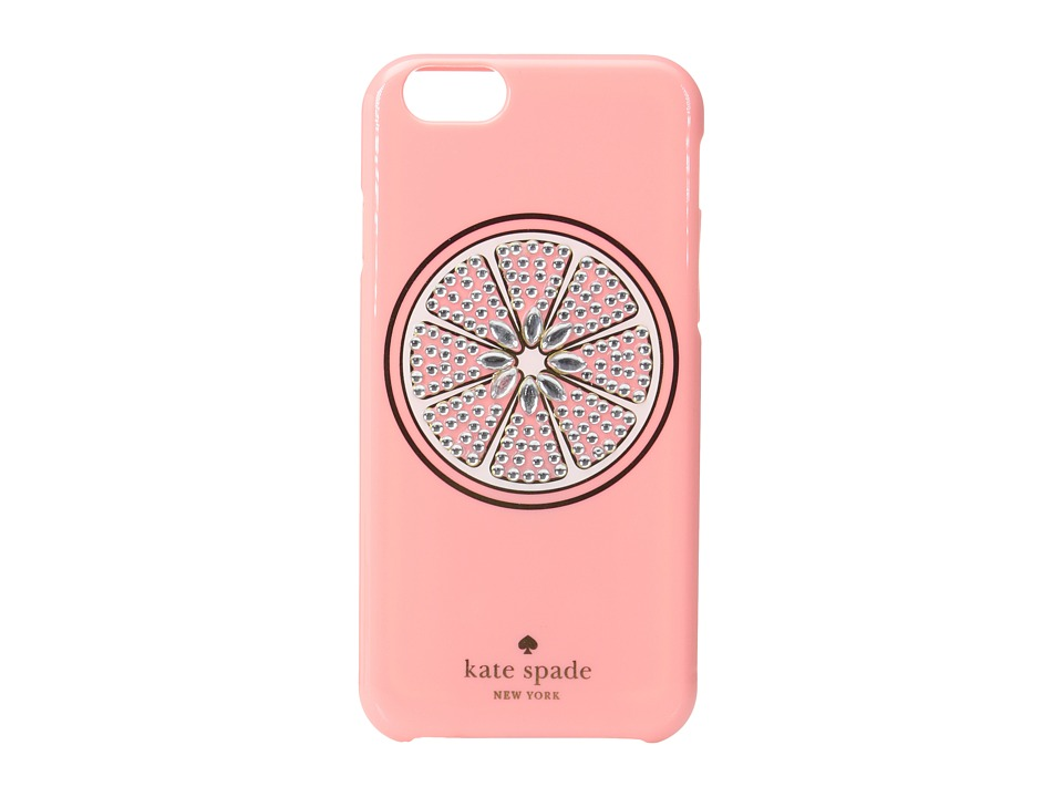 Kate Spade New York - Jeweled Grapefruit iPhone Case for iPhone 6 (Pink) Cell Phone Case