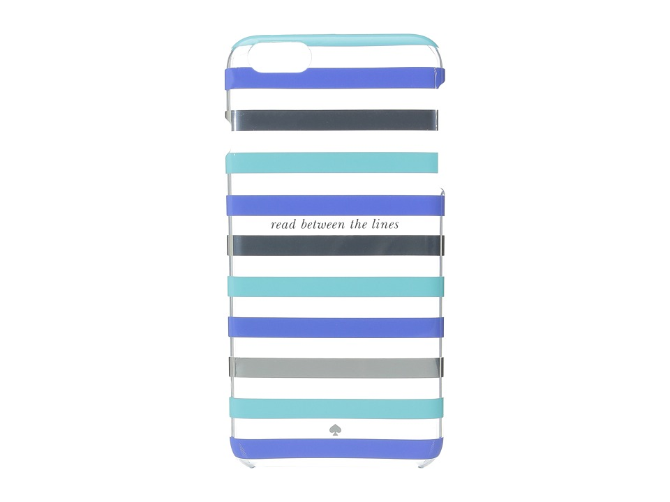 Kate Spade New York - Read Between the Lines iPhone Case for iPhone 6 Plus (Blue Multi) Cell Phone Case
