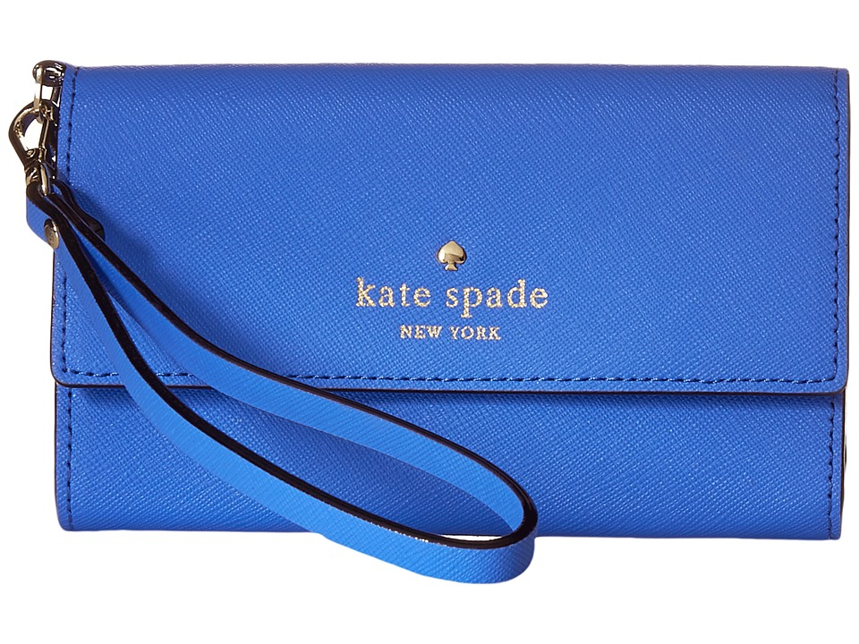 Kate Spade New York - Cedar Street Phone 6 Wristlet (Adventure Blue) Cell Phone Case