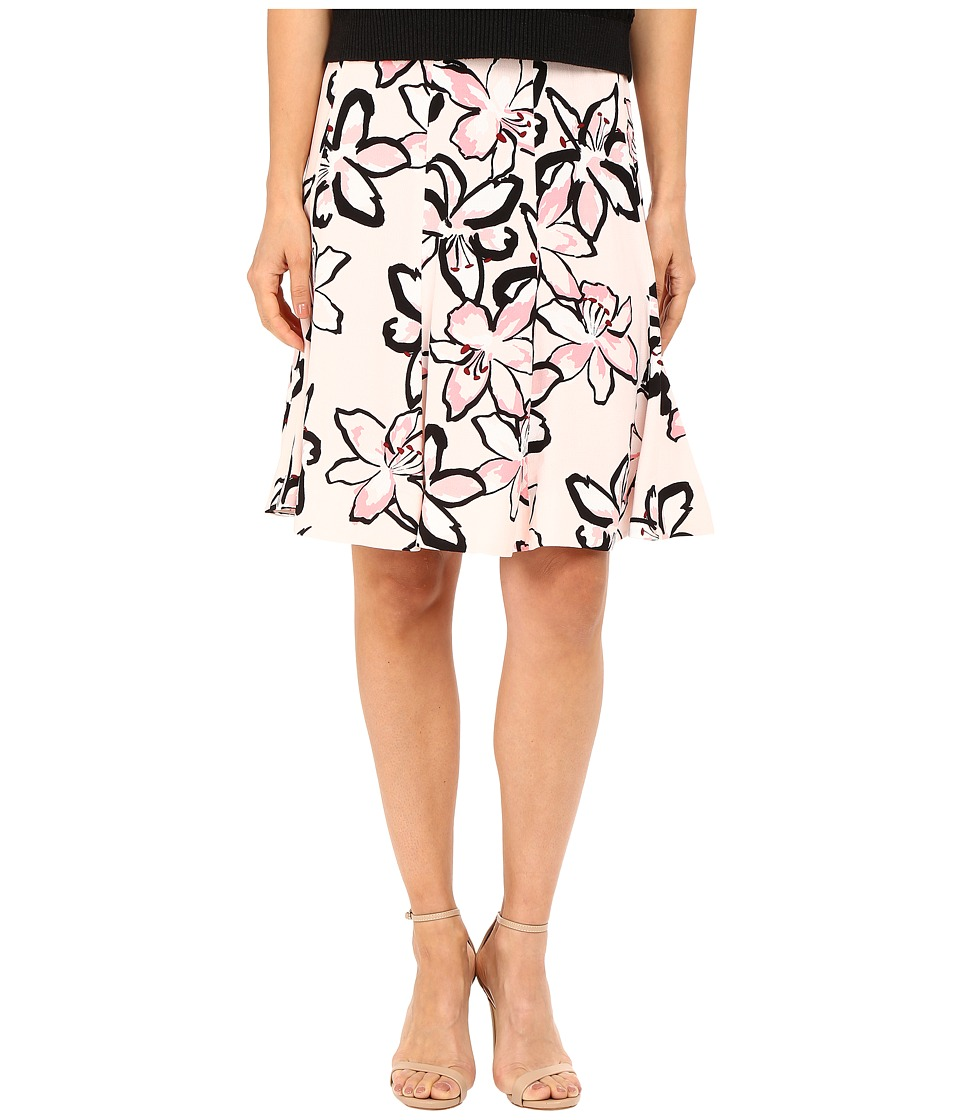 Kate Spade New York - Tiger Lily Crepe Skirt (Antilles Bubbles) Women's Skirt