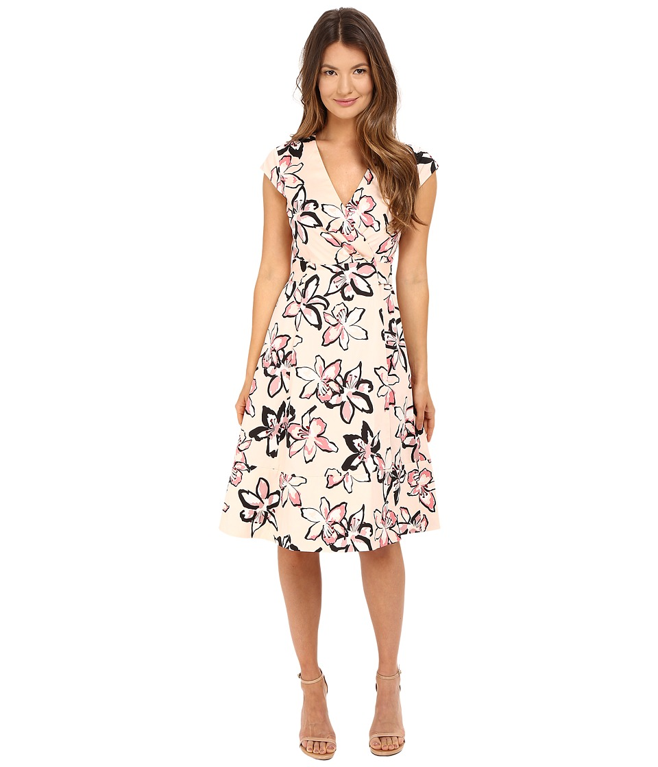 Kate Spade New York - Tiger Lily Wrap Dress (Antilles Bubbles) Women's Dress