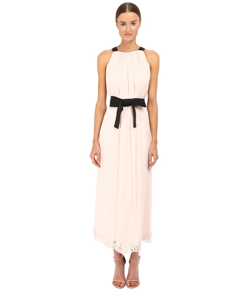 Kate Spade New York - Embroidered Maxi Dress (Antilles Bubbles) Women's Dress