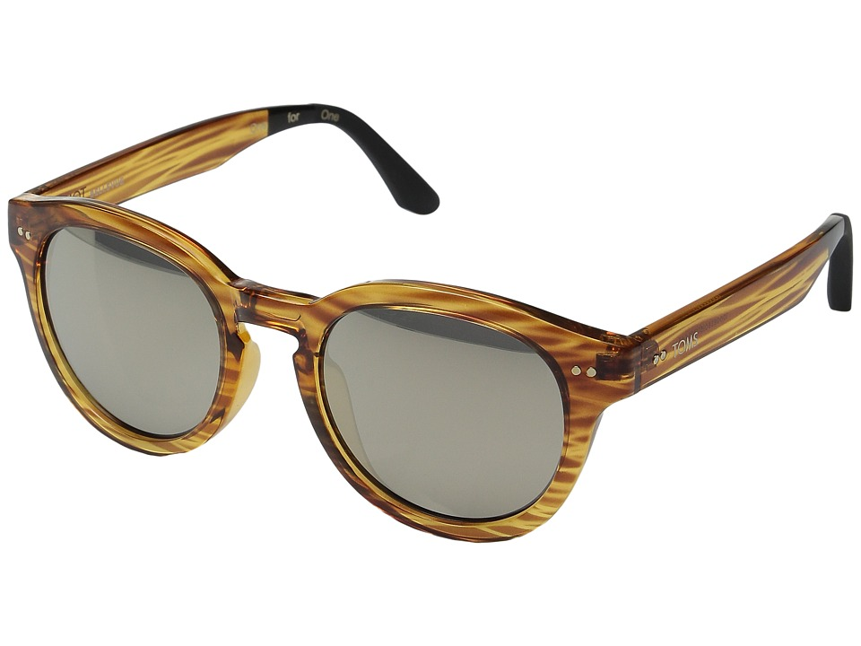 TOMS - Bellevue (Amber Ale) Fashion Sunglasses