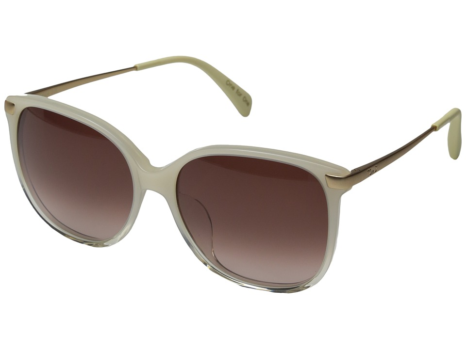 TOMS - Sandela 201 (Pearl Clear Fade) Fashion Sunglasses