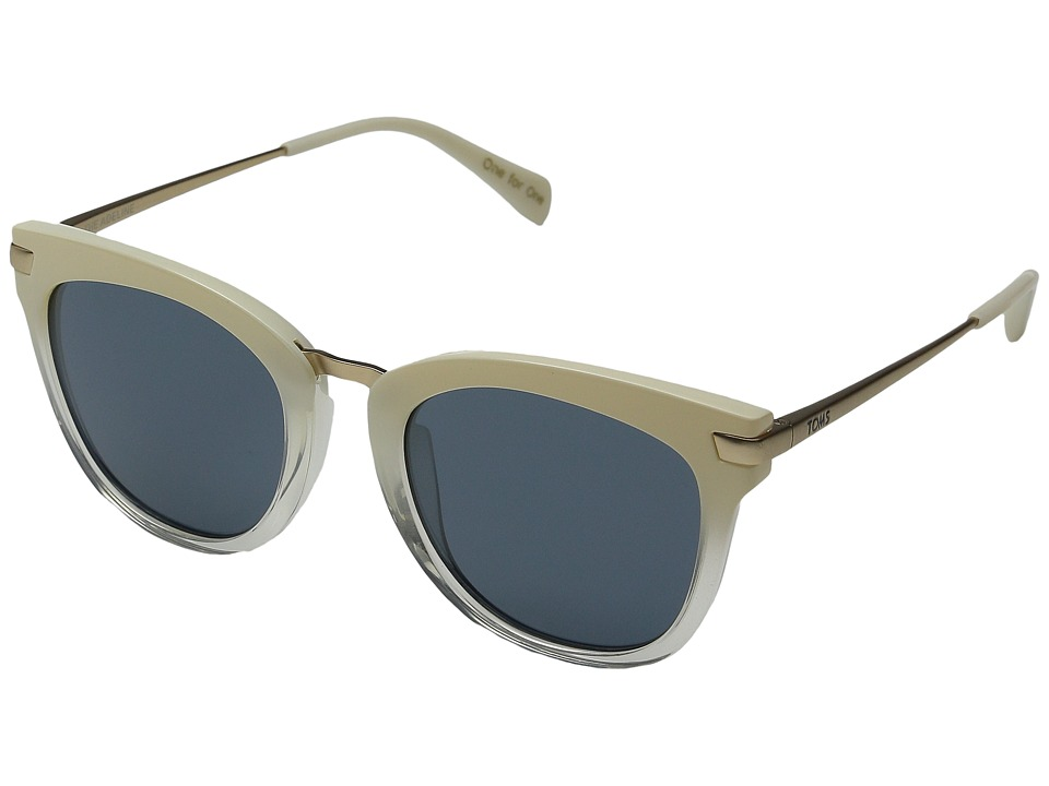 TOMS - Adeline (Pearl Clear Fade) Fashion Sunglasses