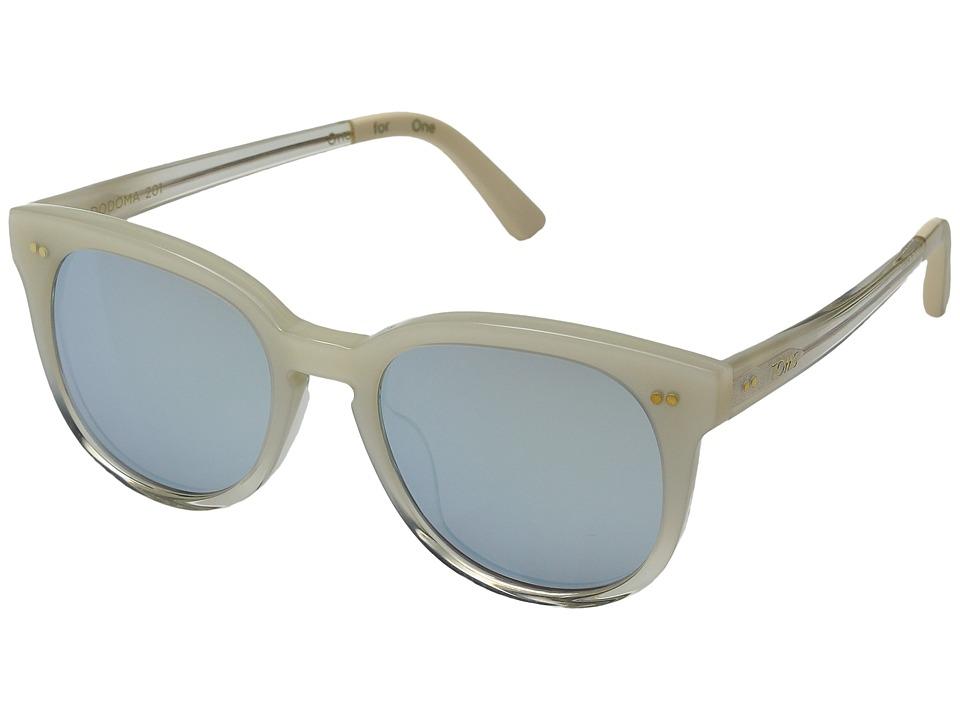 TOMS - Dodoma 201 (Pearl Clear Fade) Fashion Sunglasses