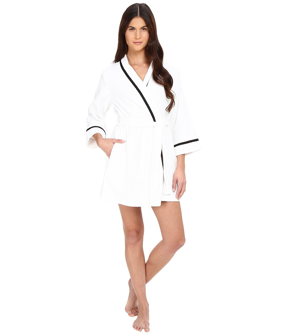 Kate Spade New York - Terry Wrap (Fresh White) Women's Robe