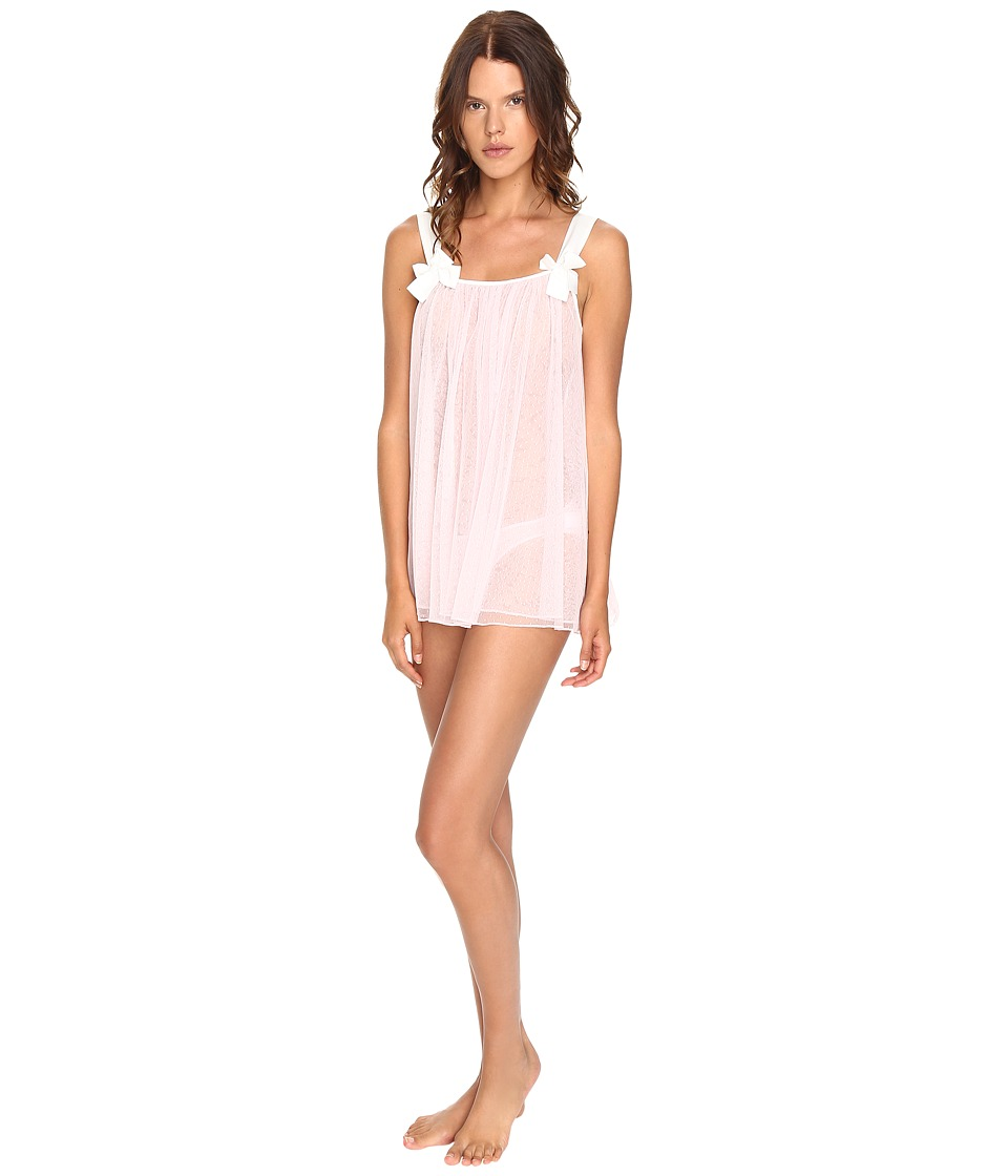 Kate Spade New York - Point d'Esprit Babydoll w/ Briefs (Pastry Pink) Women's Pajama