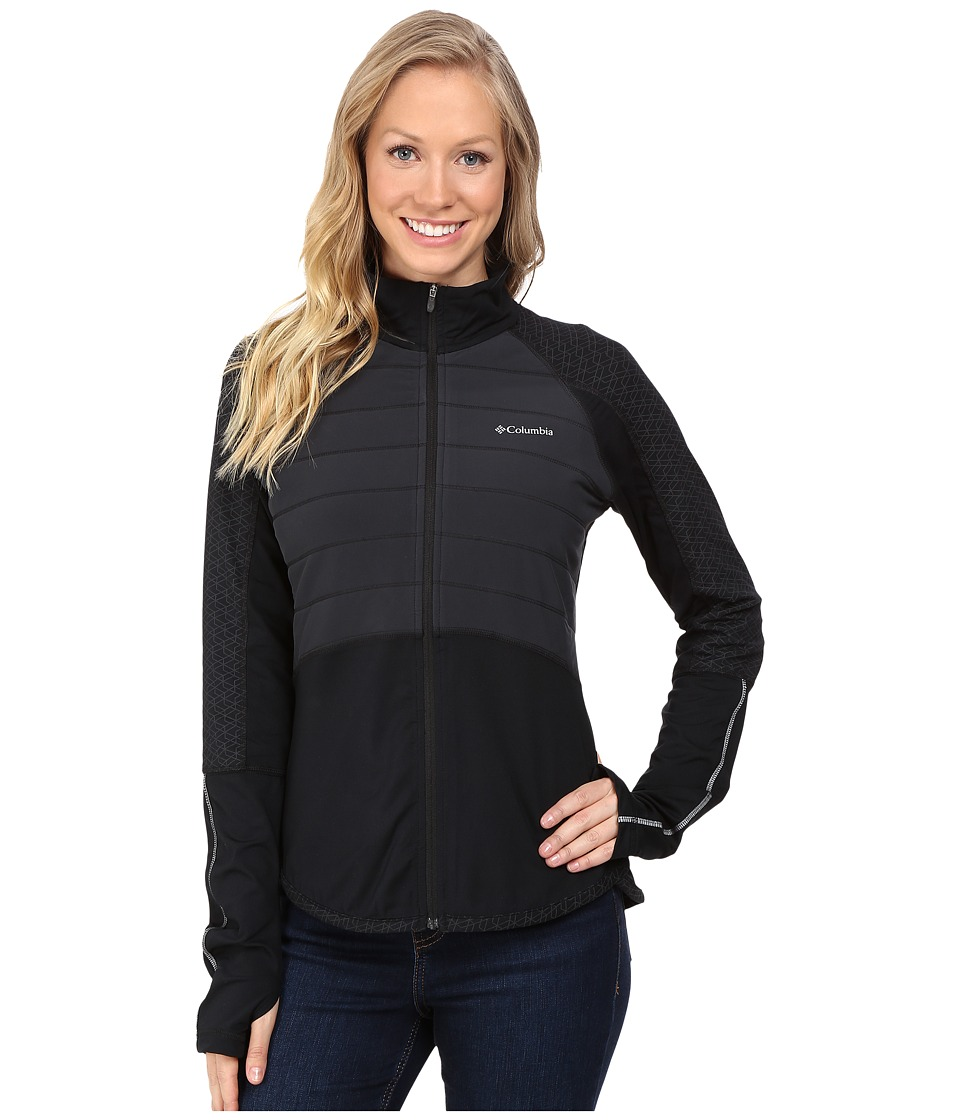 Columbia - Trail Flash Hybrid Jacket (Black) Women's Coat