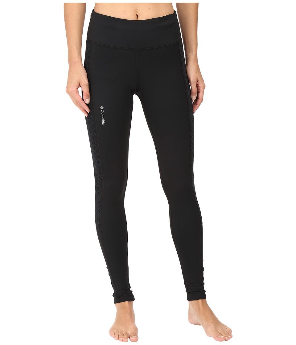 Columbia - Trail Flash Leggings (Black) Women's Casual Pants